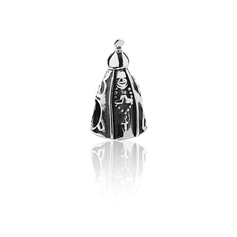 Berloque Nossa Senhora Aparecida Prata