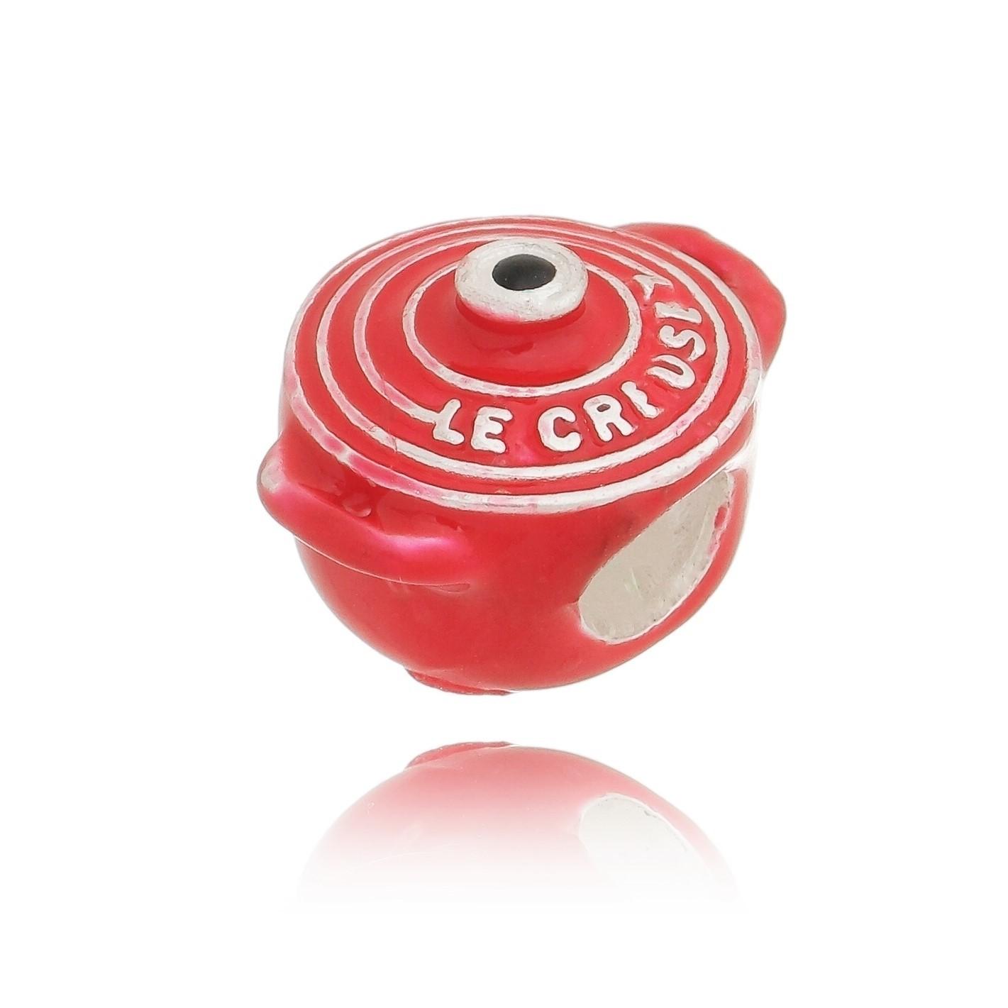 Berloque Panela Vermelha