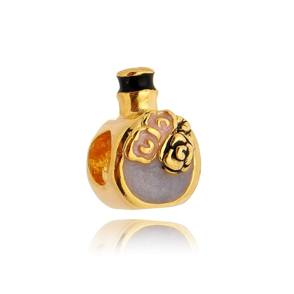 Berloque Perfume Dourado