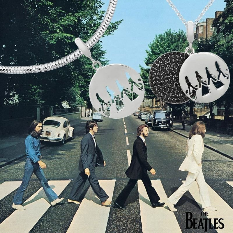 Berloque Pingente Abbey Road