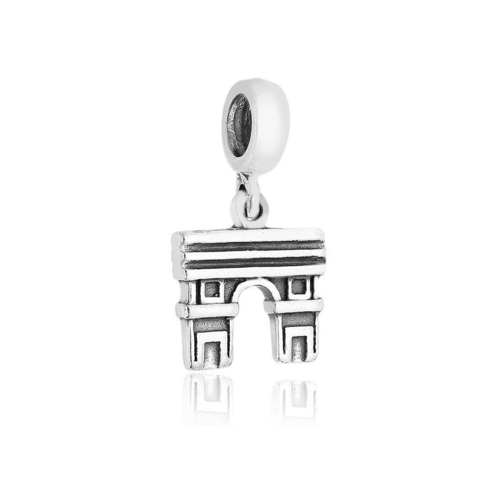 Berloque Pingente Arco Do Triunfo