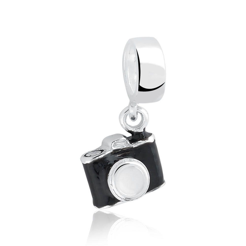 Berloque Pingente Câmera Fotográfica