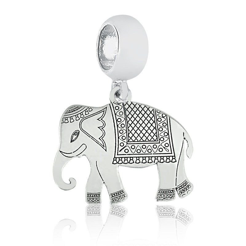 Berloque Pingente Elefante Hindu