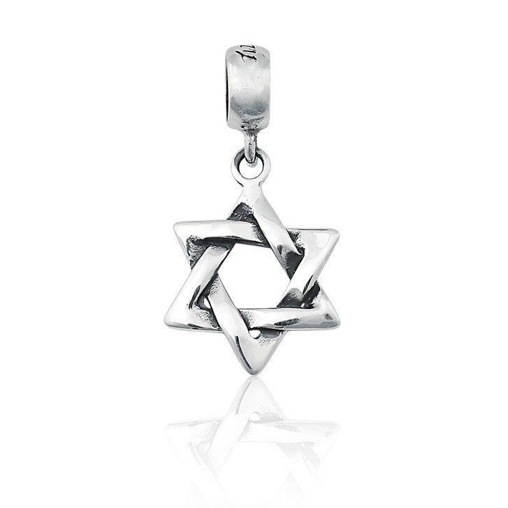 Berloque Pingente Estrela de Davi III
