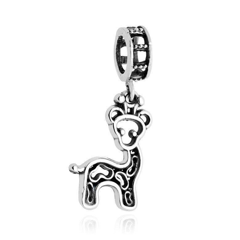 Berloque Pingente Girafa