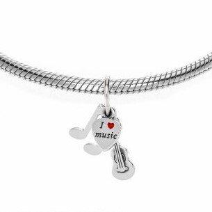 Berloque Pingente Kit Música