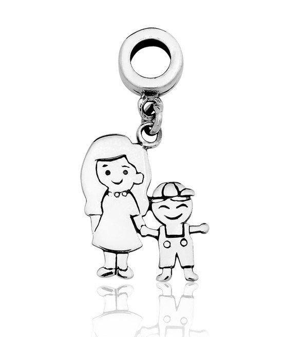Berloque Pingente Mãe e Filho