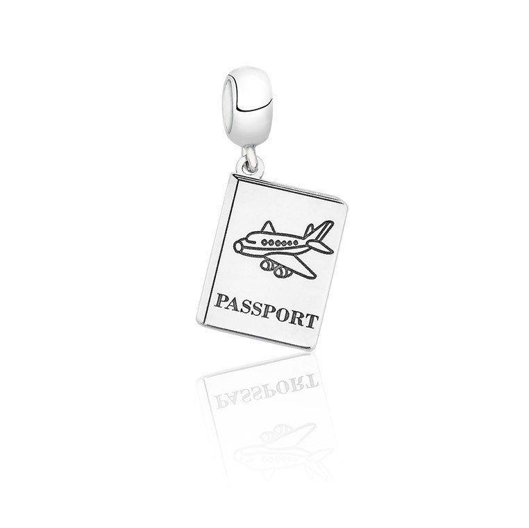 Berloque Pingente Passaporte