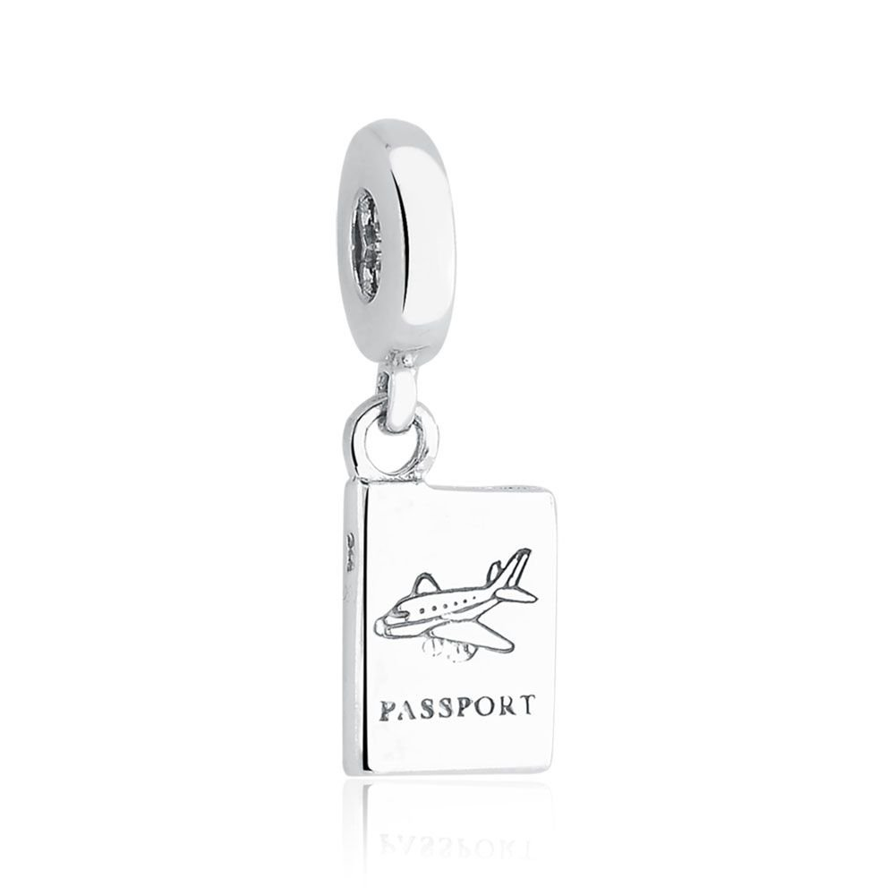 Berloque Pingente Passaporte II
