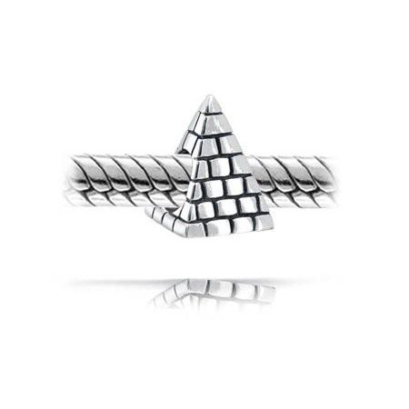 Berloque Pirâmide Prata