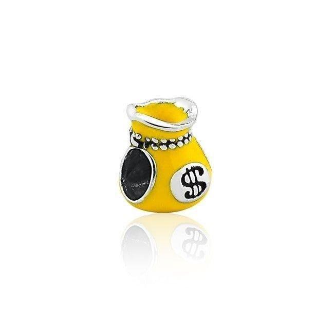 Berloque Saco Da Sorte Amarelo