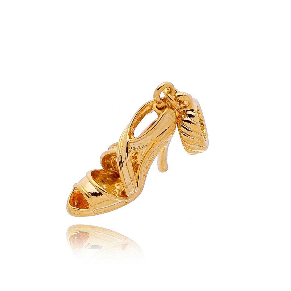 Berloque Sandália Dourada