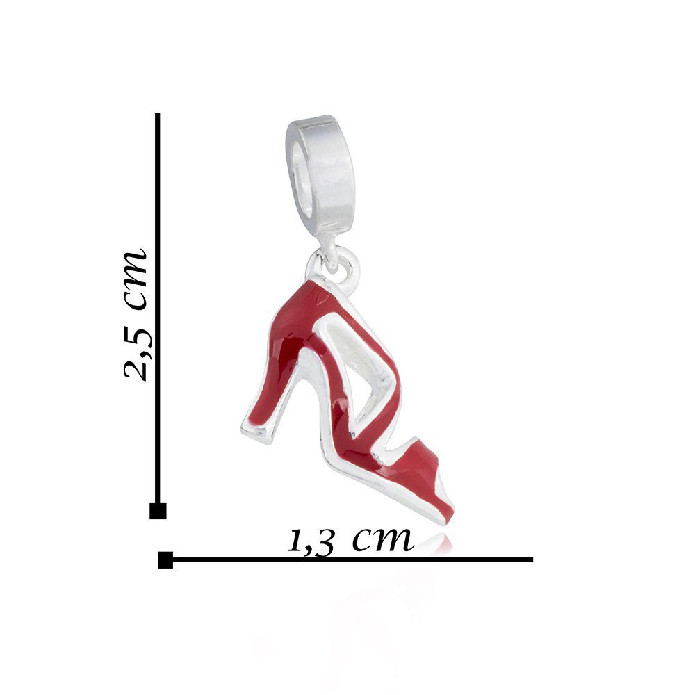 Berloque Sandália Vermelha II