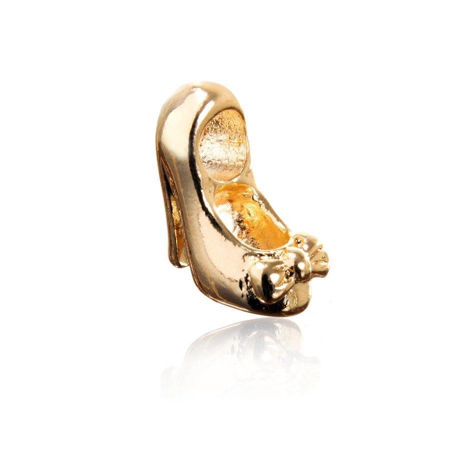 Berloque Sapatinho Dourado