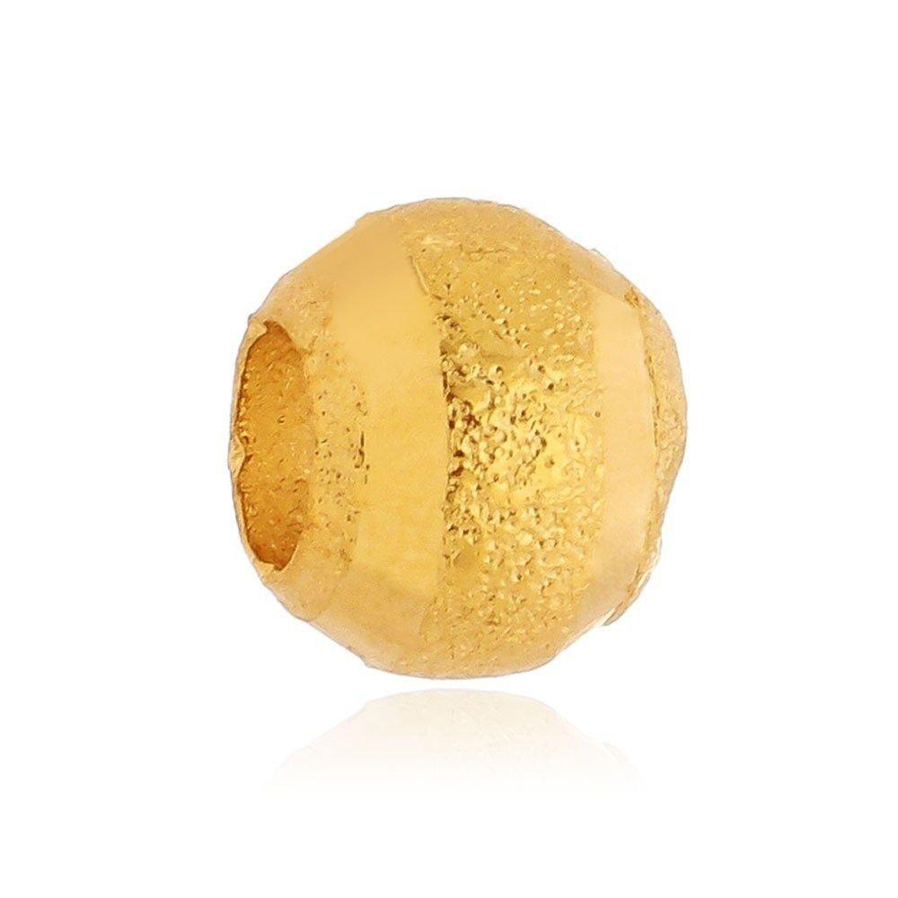 Berloque Separador Listra Dourada