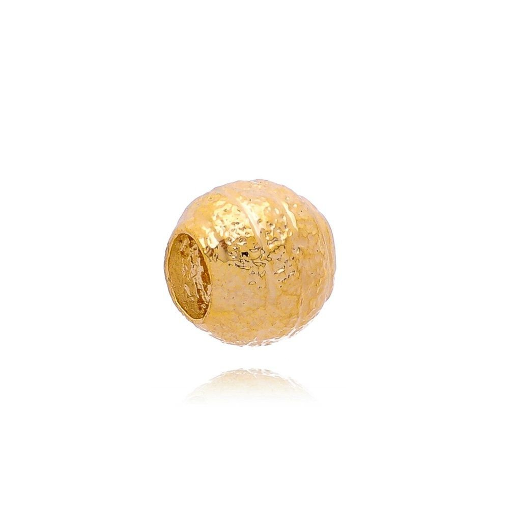 Berloque Separador Listras Dourado