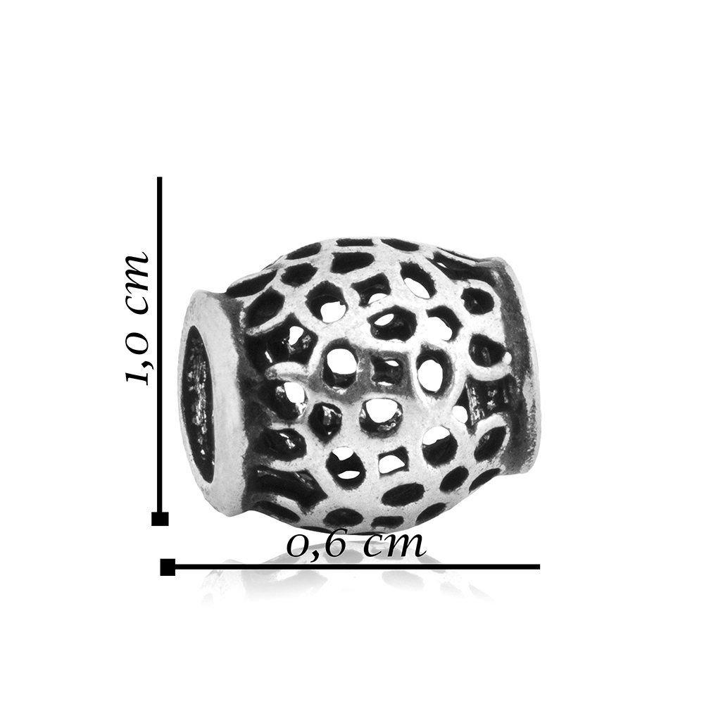 Berloque Separador Oval Flores