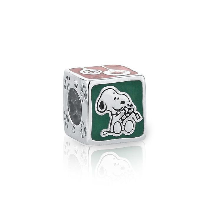Berloque Snoopy Dado Colorido