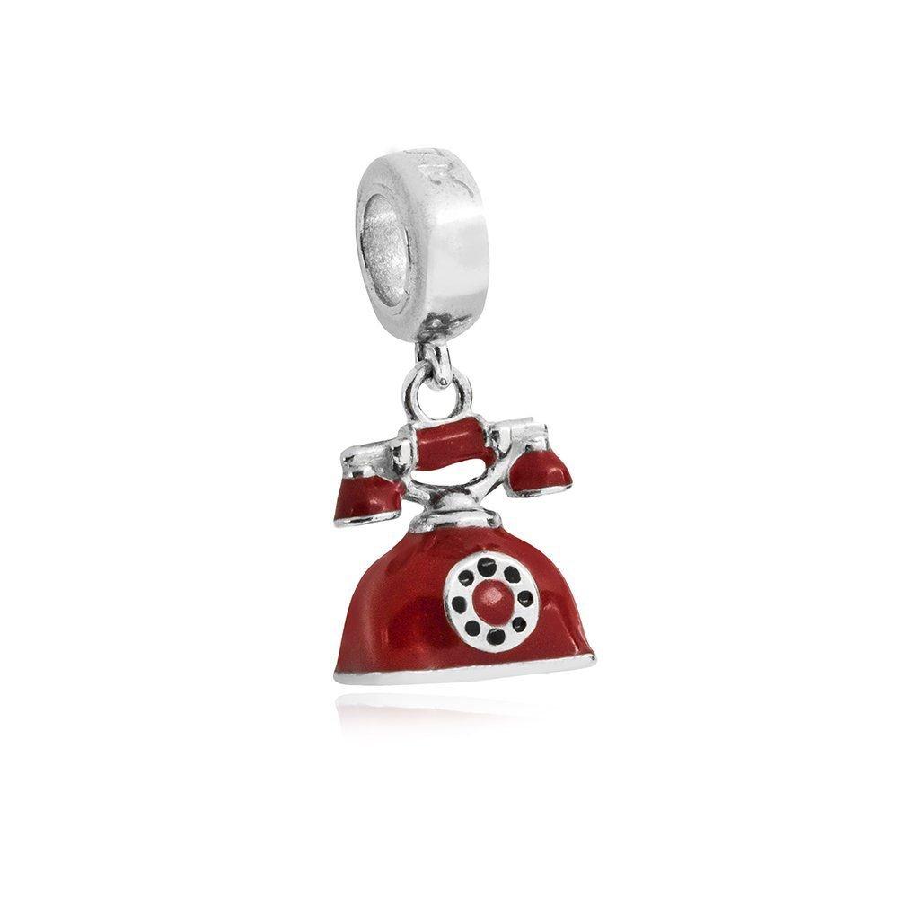 Berloque Telefone Retrô