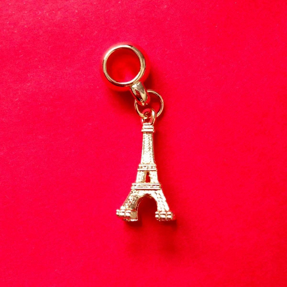 Berloque Torre Eiffel Dourada