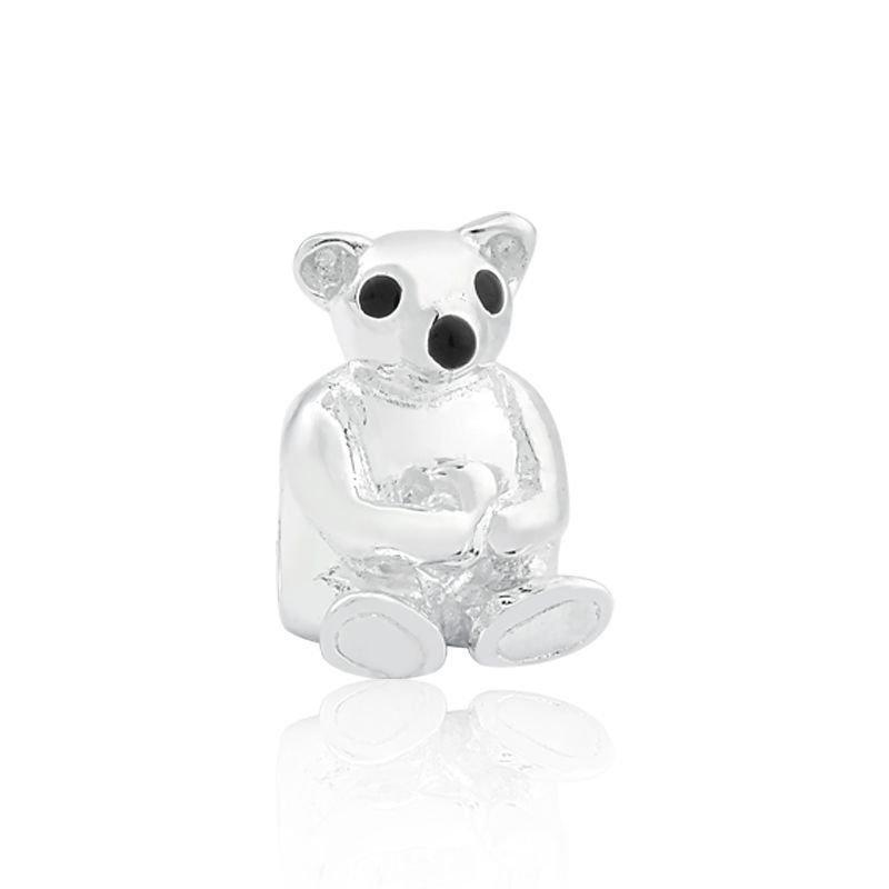 Berloque Ursinho de Prata