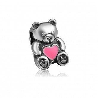 Berloque Urso com Coração