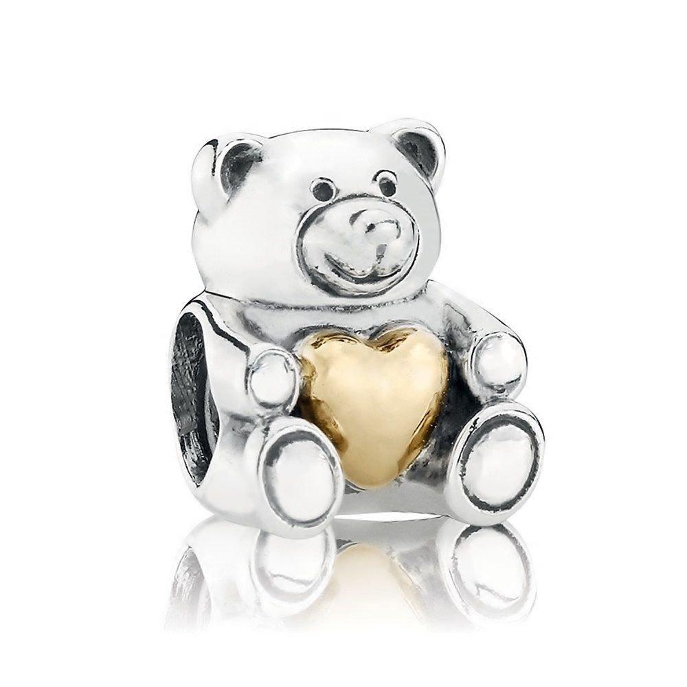 Berloque Urso Coração