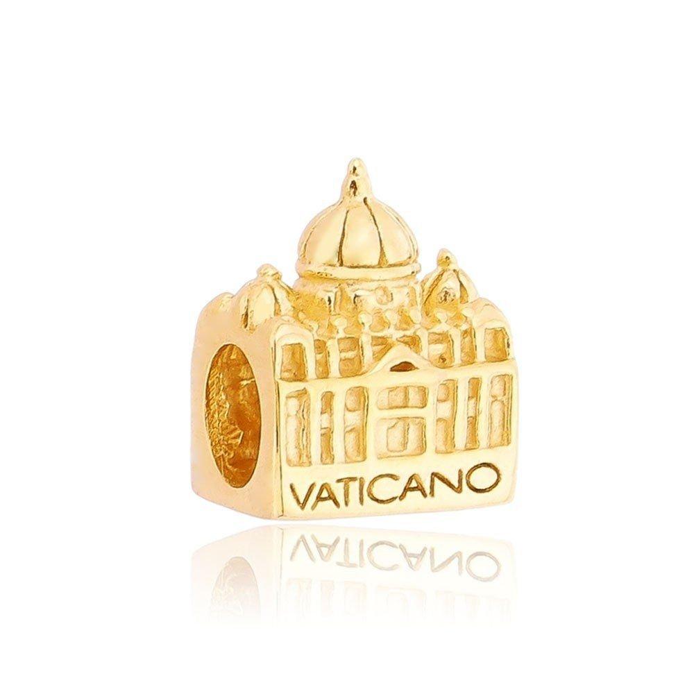 Berloque Vaticano Dourado