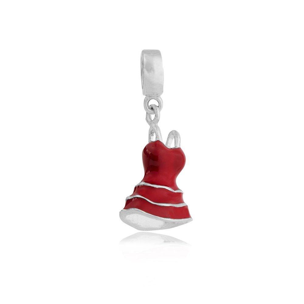 Berloque Vestido Vermelho