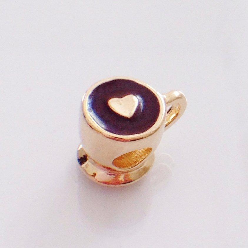 Berloque Xícara de Café Coração II