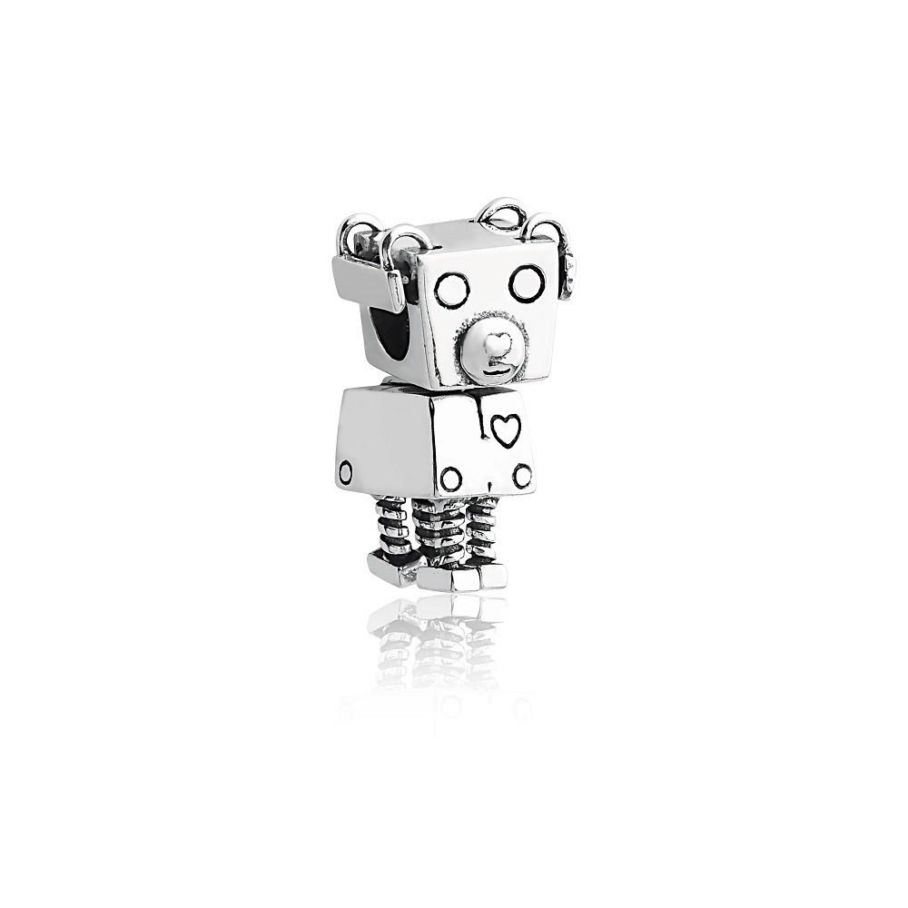 Berloque Cachorrinho Robô