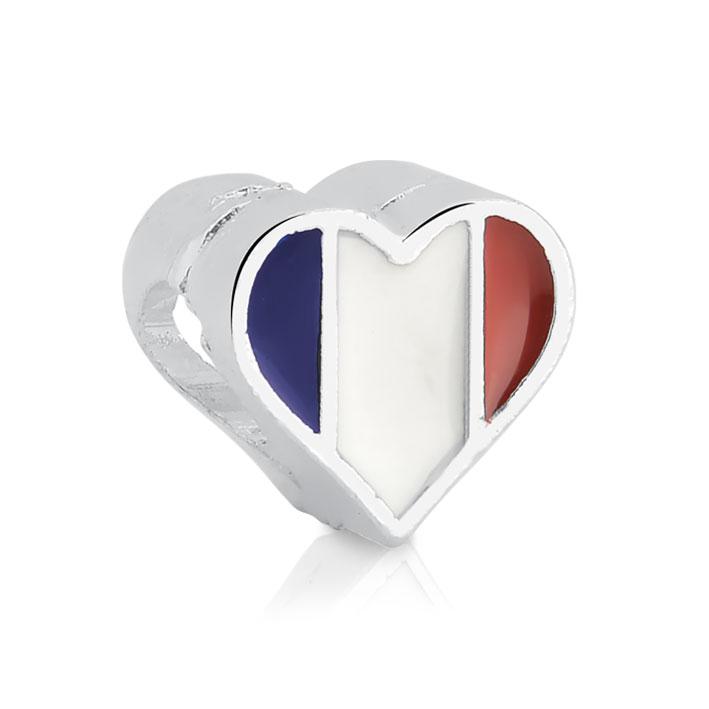 Berloque Coração França Bijoux