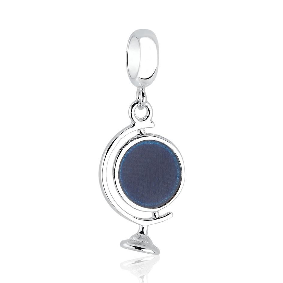 Berloque Pingente Planeta Azul