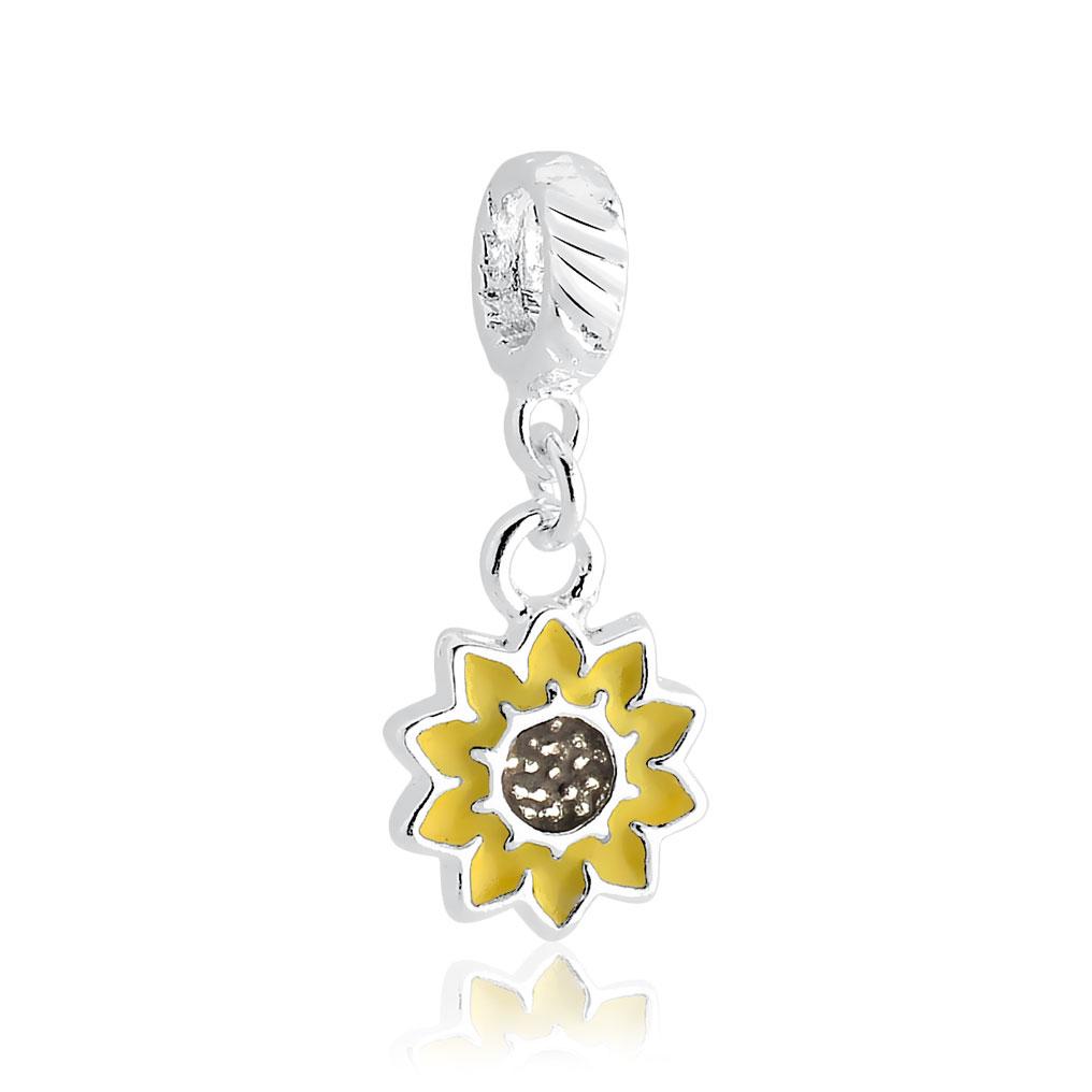 Berloque Flor de Girassol