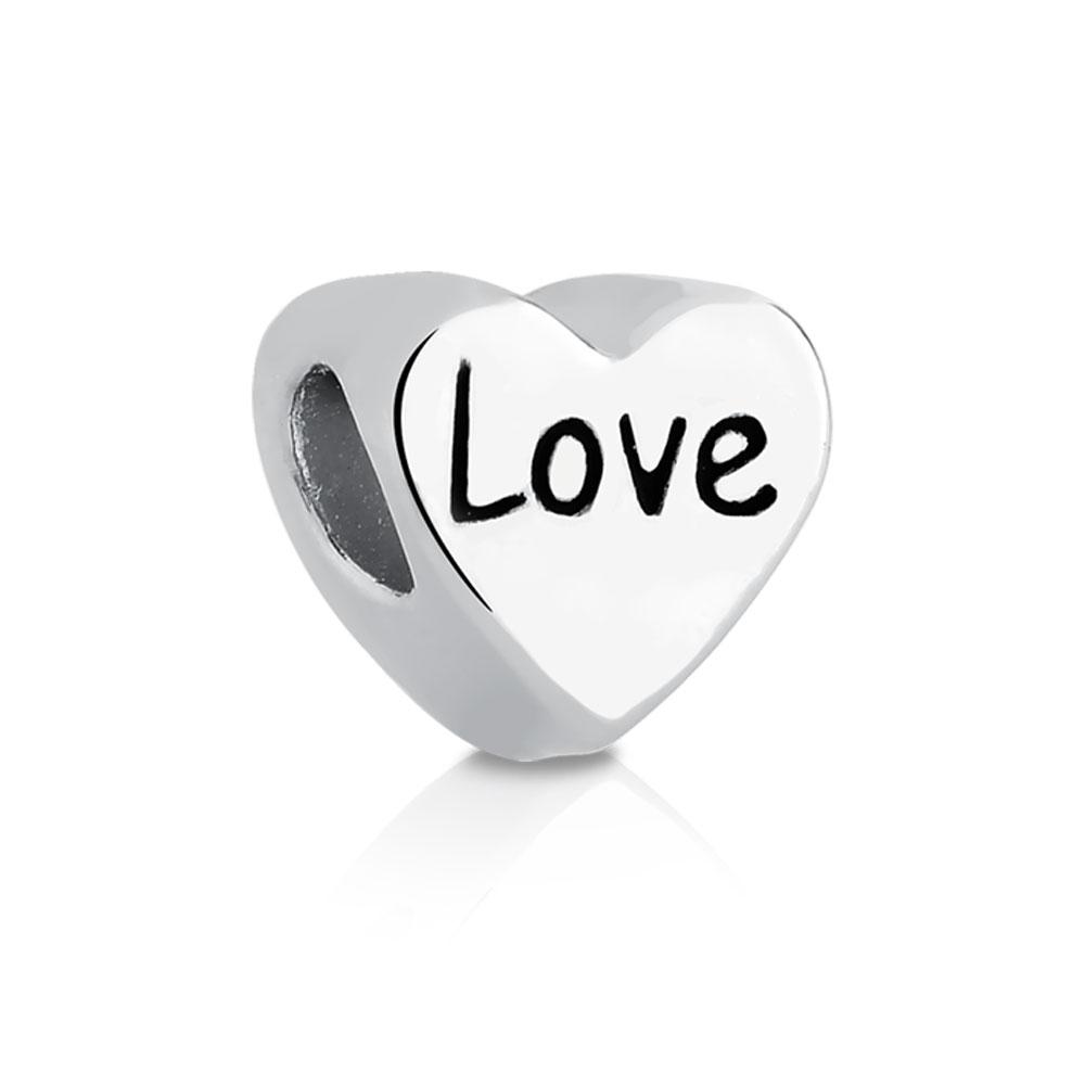 Coração Love Bijoux