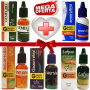 Kit Farmacinha Erótica 1 com 5 Lubrificantes com Efeitos 15ml