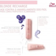 Kit Wella Invigo Blonde Recharge Shampoo E Condicinador