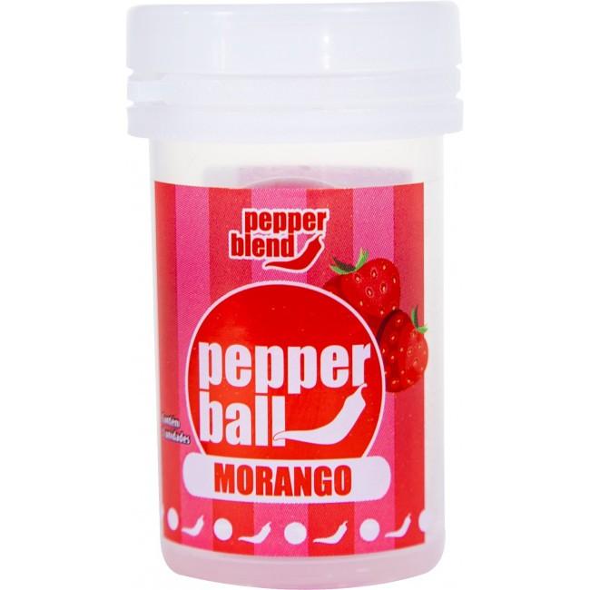 Bolinhas Pepper Ball Esquenta E Esfria Lubrificante