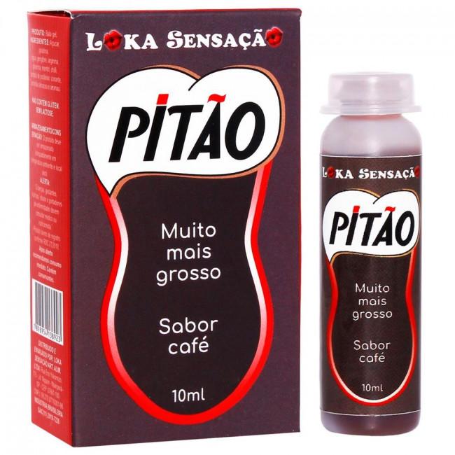 Café Pitão Lubrificante Gel Masculino Prolongador De Ereção