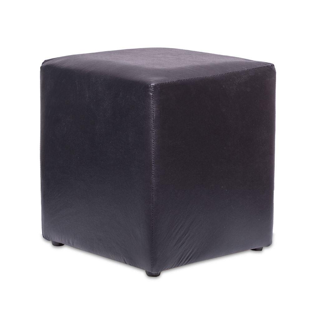 Capa De Puff Quadrado Malha Com Elástico 35x35