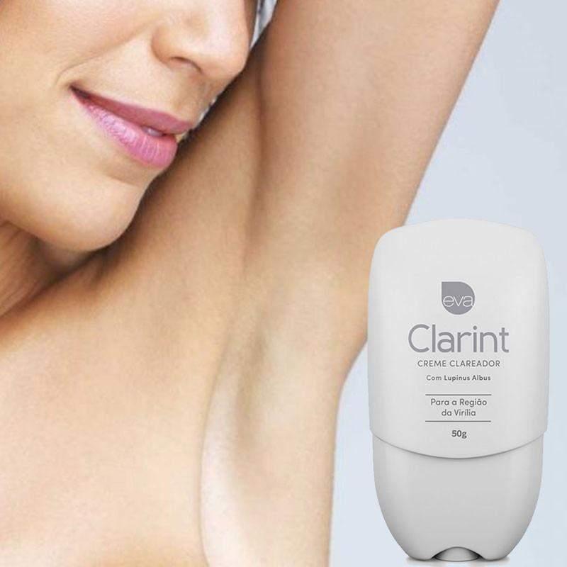 Clarint Creme Clareador Íntimo Clareia Virilha 50g