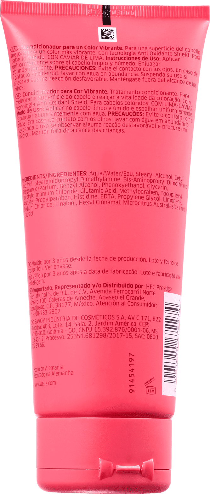 Condicionador Wella Invigo Color Brilliance 200ml