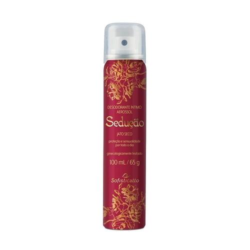 Desodorante Íntimo Sedução Limpeza E Frescor 100ml