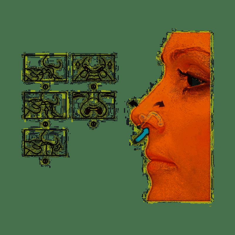 Flux Air Dilatador Nasal Interno Respire Bem - 2 Unidades