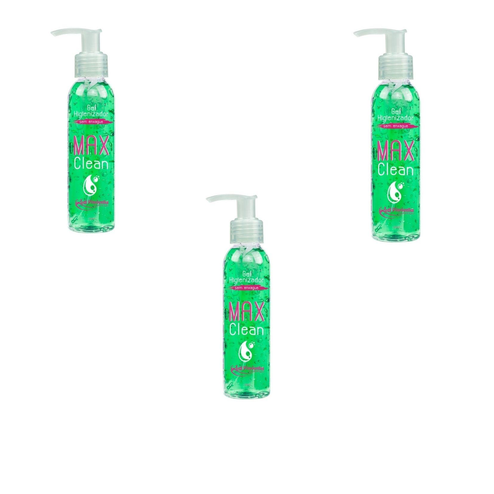 Gel Higienizador Max Clean 120ml