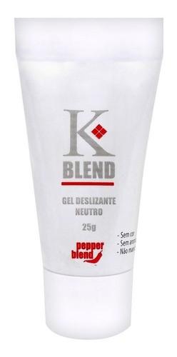 Lubrificante Íntimo Incolor K Blend Neutro 25 G