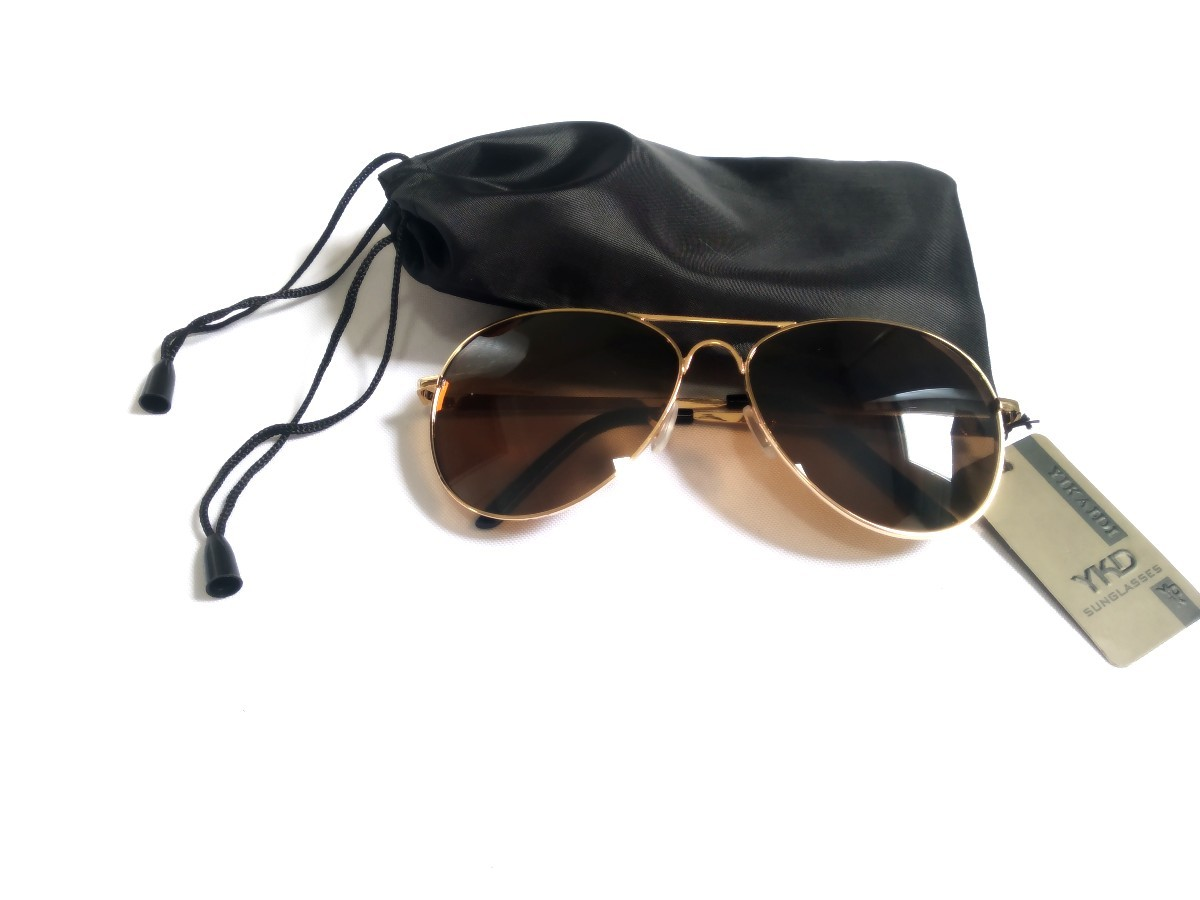 Óculos De Sol Aviador Feminino Masculino Proteção Uv 400