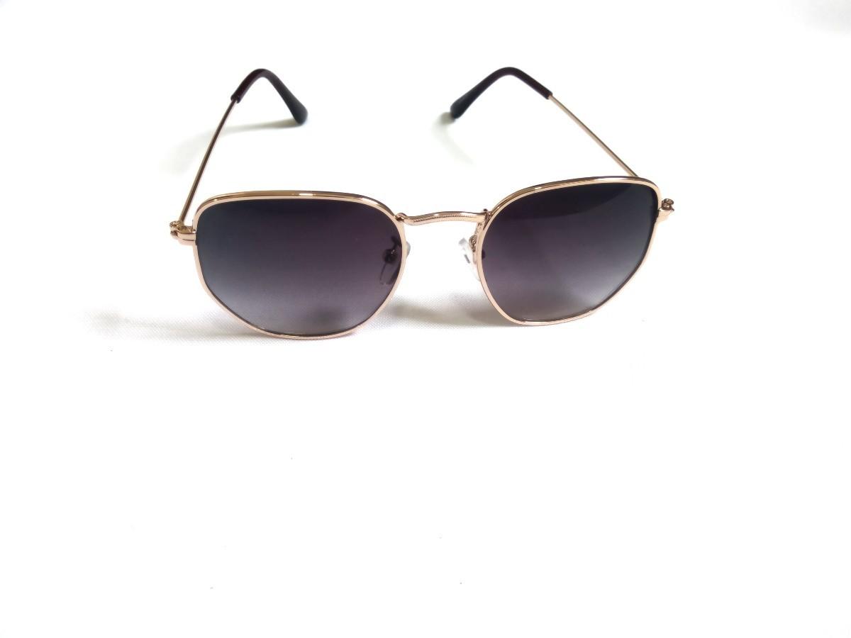 Óculos Hexagonal Masculino Feminino Dsm Original