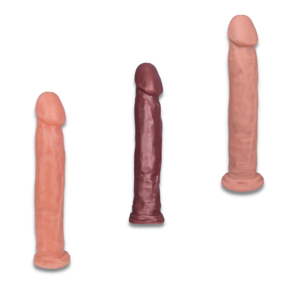 Pênis Prótese Consolo Realista Maciça 27,5 x 5 cm Adventure Triunfo