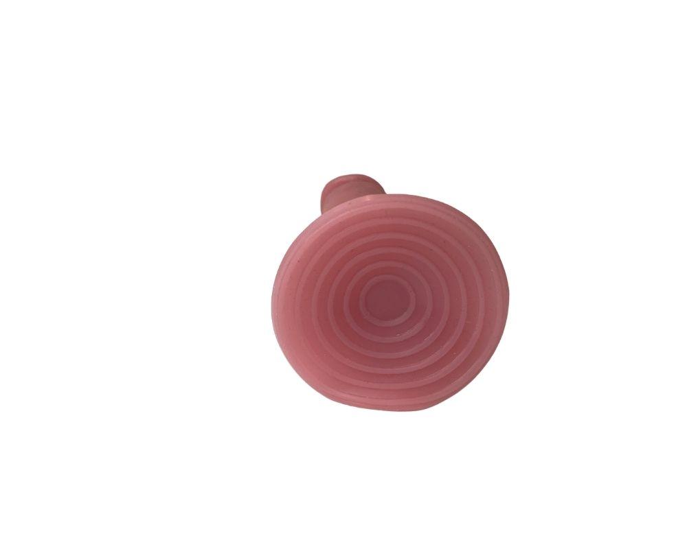 Pênis Realístico Maciça Com Veias E Ventosa 15cm X 3,7cm